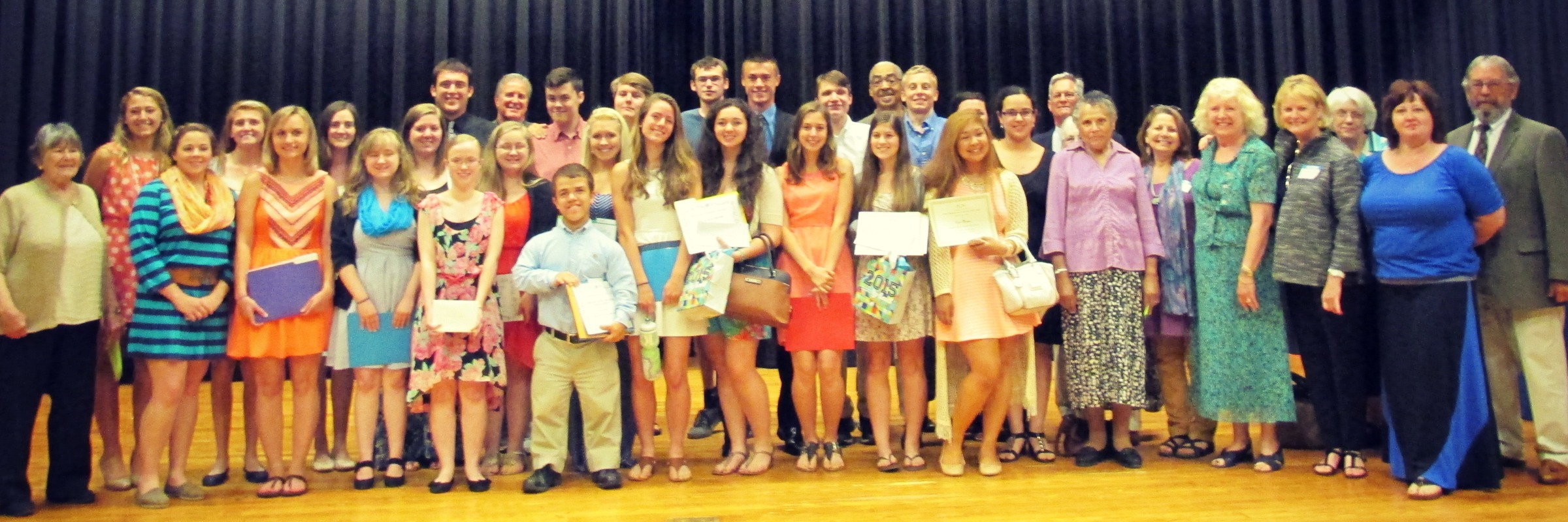 Headwaters Scholarship Assembly 2015